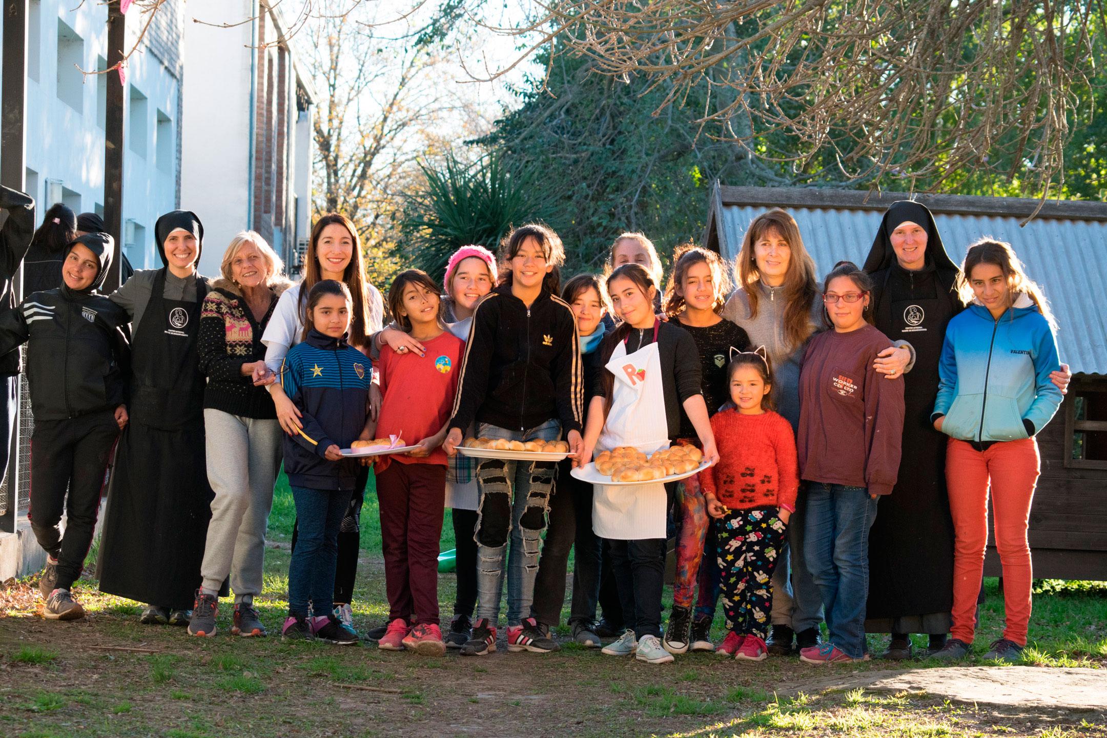 Nuestro grupo de Niños en el Centro Integral de Formación